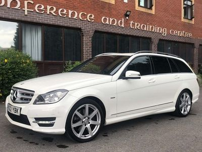 used Mercedes C350 C-Class EstateCDI BlueEFFICIENCY Sport (2011) 5d Auto