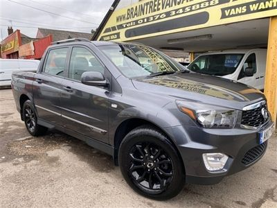 used Ssangyong Musso EX AUTOMATIC 2.2 TD