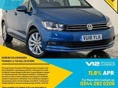 used VW Touran 1.4 TSI SEL (s/s) 5dr