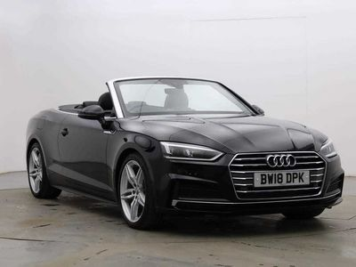 used Audi A5 Cabriolet S line 2.0 TFSI 190 PS S tronic 2dr
