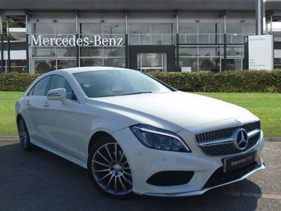 used Mercedes CLS220 ClsBlueTEC AMG Line 4dr 7G-Tronic diesel coupe