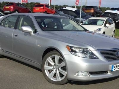 used Lexus LS600h L 5.0 4dr CVT Auto (Rear Relaxation Pack)