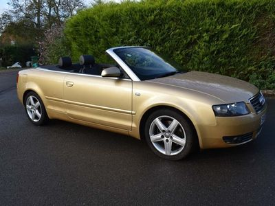 used Audi A4 Cabriolet Cabriolet 1.8 T Sport quattro 2dr