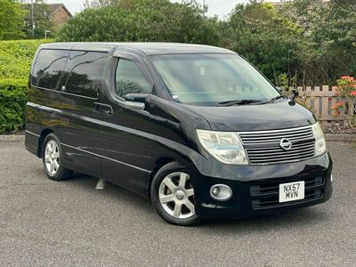 used Nissan Elgrand HIGHWAY STAR V6 2.5 AUTO 8 SEATS LEATHER 5dr