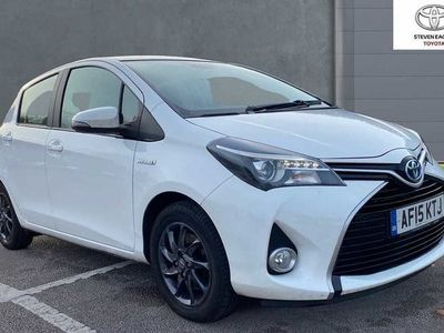 used Toyota Yaris 1.5 VVT-h Excel E-CVT 5dr (15in Alloy)
