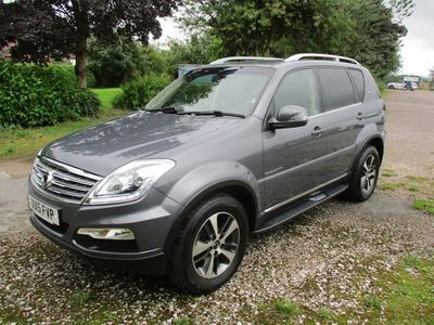 used Ssangyong Rexton 2.0 ELX 5d 153 BHP 4X4 REVERSE CAMERA AND TOWBAR