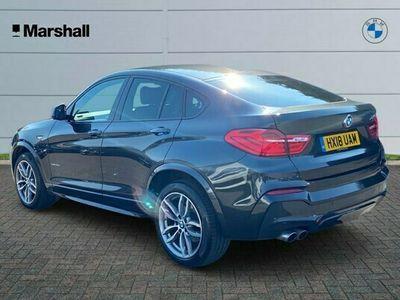 used BMW X4 X4 SeriesxDrive30d M Sport 3.0 5dr