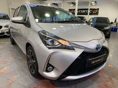 used Toyota Yaris 1.5 VVT-h Design Hatchback 5dr Petrol Hybrid E-CVT (s/s) (100 ps)