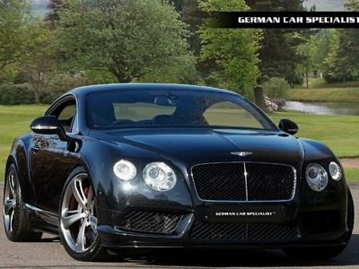 used Bentley Continental GT V8 S ** SPORTS EXHAUST + RED LEATHER **