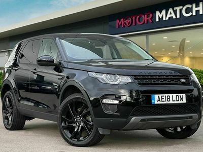 used Land Rover Discovery Sport 2.0Td4 HSE Black