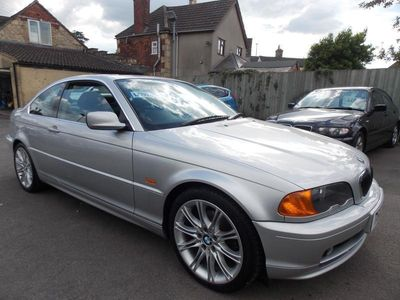 used BMW 328 3 Series Ci 2dr Coupe Metallic Silver