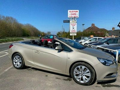 used Vauxhall Cascada  Cascada SE SS 2-Door LOVELY CLEANCONVERTIBLE - POWER ROOF - AIRCON - LOW MILEAGE AND WELL LOOKED AFTER - SOLD WITH NEW MOT - WORKSHOP CHECKOVER - WARRANTY