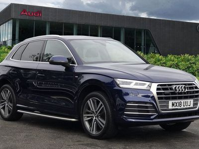 used Audi Q5 S line 2.0 TDI quattro 190 PS S tronic Estate 2018
