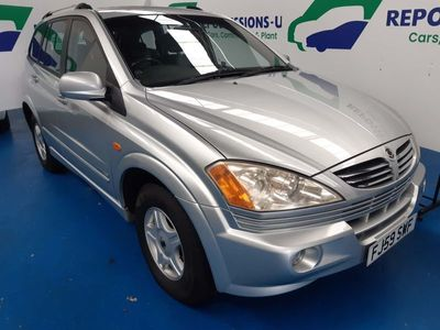 used Ssangyong Kyron 2.0 TD SE 5dr