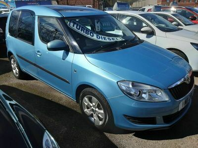 used Skoda Roomster 1.6 TDI CR 105 SE 5dr (GLASS ROOF)