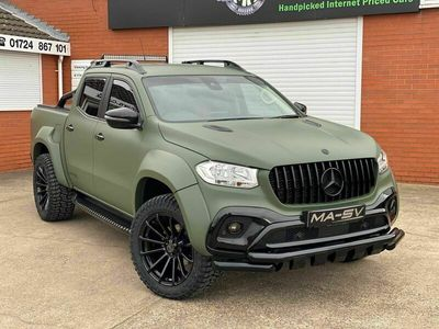 used Mercedes X250 X Class 2.3Pure Double Cab Pickup Auto 4MATIC 4dr