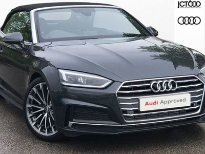 used Audi A5 Cabriolet 2.0 Tfsi S Line 2Dr