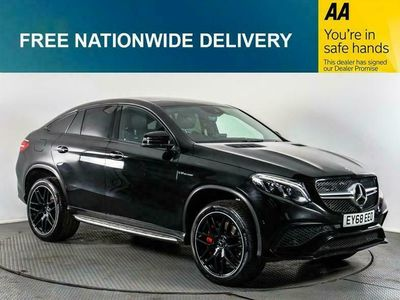 used Mercedes GLE63 AMG GLE 5.5 AMGS 4MATIC NIGHT EDITION 4d AUTO 577 BHP