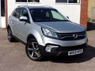 used Ssangyong Korando 2.2 Ultimate 4x4 5dr Auto