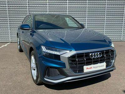 used Audi Q8 50 TDI Quattro S Line 5dr Tiptronic