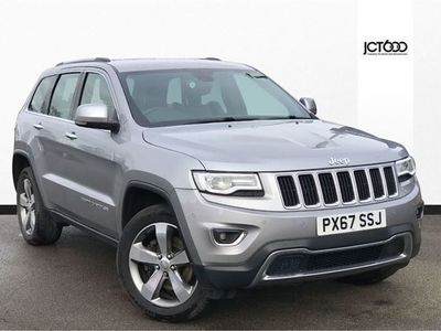 used Jeep Grand Cherokee V6 CRD LIMITED PLUS sw diesel