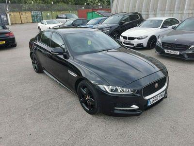 used Jaguar XE Saloon 2.0d (180bhp) R-Sport 4d Auto