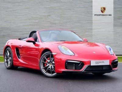 used Porsche Boxster 3.4 GTS 2dr