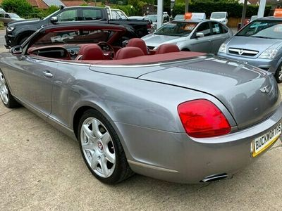 used Bentley Continental GT Convertible 6.0 W12 2d Auto