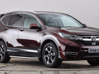 used Honda CR-V 1.5 VTEC Turbo SR 5dr CVT [7 Seat] Brown Automatic Petrol