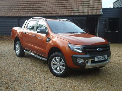used Ford Ranger 3.2 TDCi Wildtrak Double Cab Pickup 4x4 4dr (EU5)