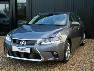 used Lexus CT200h 200H EXECUTIVE EDITION - NAV / LEATHER / REAR CAM 1.8 5dr