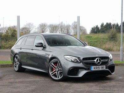used Mercedes S63 AMG E Class Mercedes-AMG E4MATIC+ Night Edition Estate 4.0 5dr