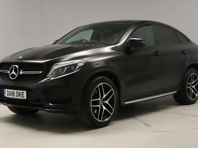 used Mercedes GLE350 Gle Coupe4Matic AMG Night Edition 5dr 9G-Tronic - COMAND NAV - PARKTRONIC 3.0