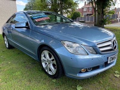 used Mercedes E220 E-Class 2.1TDCDI SE 2.1CDI Blue F Coupe 2d 2143cc auto