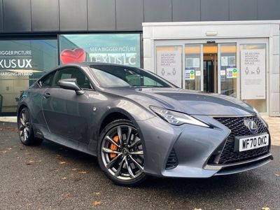 used Lexus RC300h 2.5 F-Sport 2dr CVT Coupe