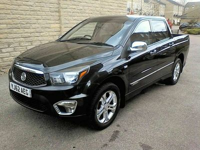 used Ssangyong Korando Sports 2.0 TD EX Pickup 4WD 4dr
