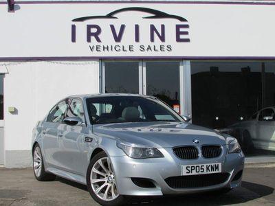 used BMW M5 5.0 V8 SMG 4dr