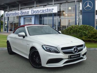 used Mercedes C63 AMG C CLASS AMG2dr Auto Automatic amg cabriolet