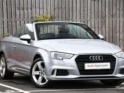 used Audi A3 Cabriolet Sport 1.5 Tfsi 150 Ps 6-Speed Convertible 2017
