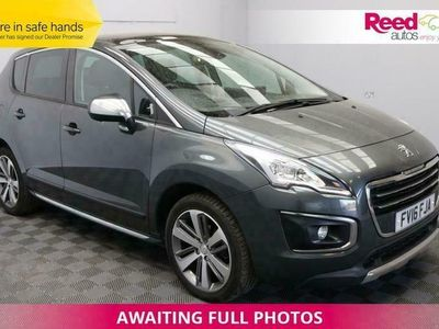 used Peugeot 3008 1.6 BLUE HDI S/S ALLURE 5d 120 BHP PANROOF+1/2 LEATHER+REAR CAM+CRUISE