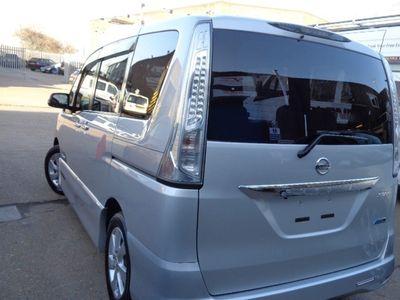 used Nissan Serena HYBRID,8seat,GPS/DVD/BT,Camera,Low Mls, 2.0 5dr