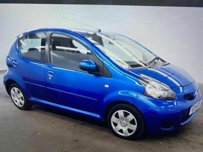 used Toyota Aygo 1.0 VVT-i Blue Blue 5dr