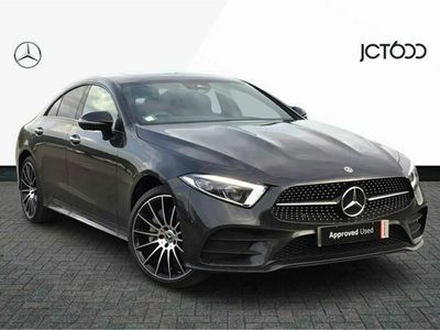 used Mercedes CLS400 CLS Class4Matic AMG Line Ngt Ed Pr + 4dr 9G-Tronic Coupe 2021