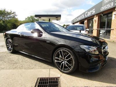 used Mercedes E53 AMG E Class 3.0EQ Boost AMG Cabriolet SpdS TCT 4MATIC+ (s/s) 2dr