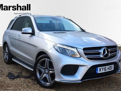 used Mercedes GLE350 GL Class4Matic AMG Line 5dr 9G-Tronic Estate 2016
