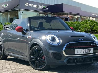 used Mini John Cooper Works Cabriolet 2.0 John Cooper Works 2dr Auto