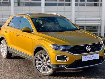 used VW T-Roc 2018 Stafford 2.0 TSI SEL 4MOTION 5dr DSG