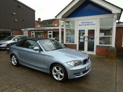 used BMW 123 Cabriolet 123d SE 2dr Step Auto