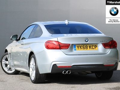 used BMW 420 4 Series d [190] xDrive M Sport 2dr Auto [Prof Media] Coupe 2019