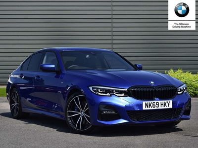 used BMW 330 3 Series d M Sport 4dr Step Auto Saloon 2019